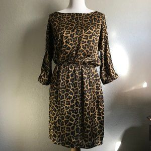 Michael Kors Cheetah Leopard Print Dress